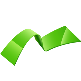 Green Ribbon PNG