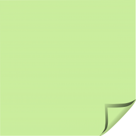 Green Sticky Notes PNG