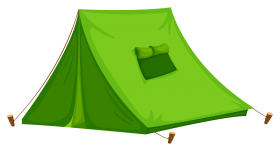 Green Tent PNG