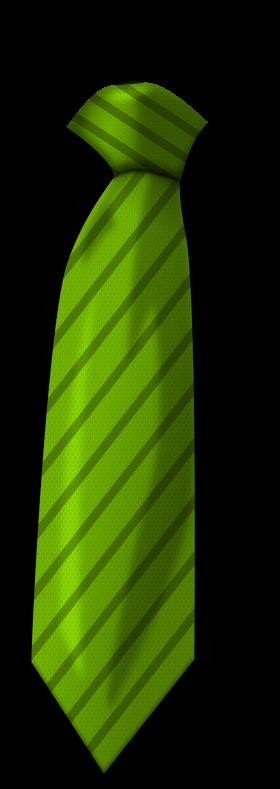 Green Tie PNG
