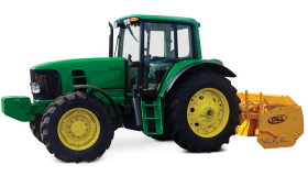 Green Tractor PNG