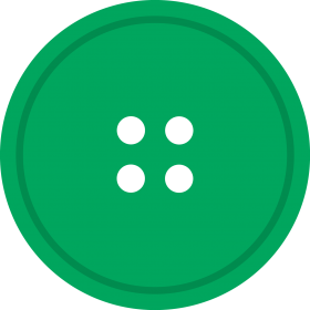 Greent Round Button PNG