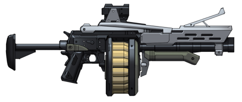 Grenade Launcher Clipart PNG