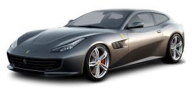 Grey Ferrari GTC4 Lusso Car PNG