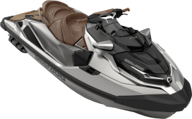 Grey Jet Ski PNG