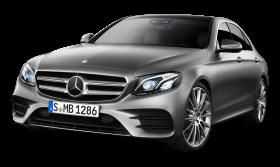 Grey Mercedes Benz E class Car PNG