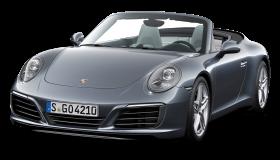 Grey Porsche 911 Carrera Car PNG