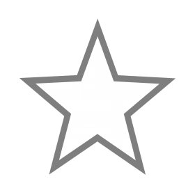 Grey Star PNG