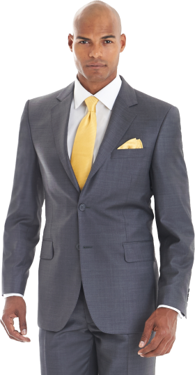 Grey Suit PNG