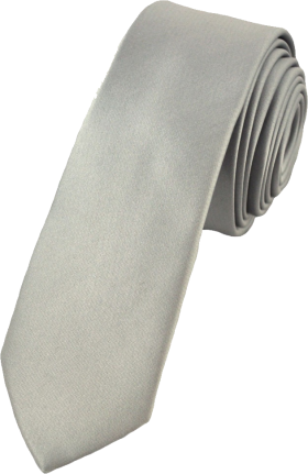 Grey Tie PNG