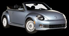Grey Volkswagen Beetle Denim Car PNG