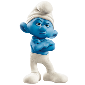 Grouchy Smurf PNG