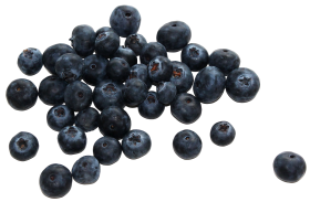 Group of Blueberries PNG