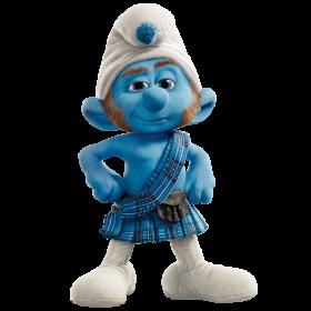 Gutsy  Smurf PNG