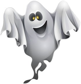 Halloween Ghost Clipart PNG