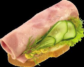 Ham Bread PNG