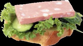 Ham Sandwhich PNG