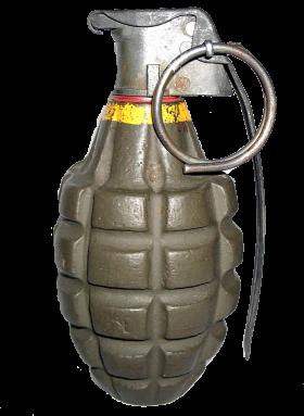 Hand Grenade PNG PNG