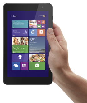 Hand Holding Tablet PNG