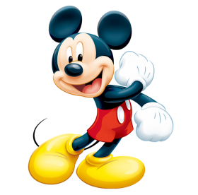 Happy Mickey PNG
