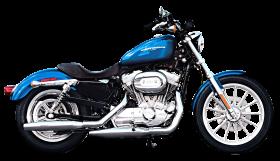 Harley Davidson Blue PNG