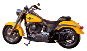 Harley Davidson Yellow PNG