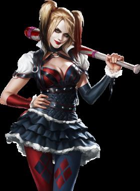 Harley Quinn Arkham Knight PNG