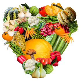 Heart Vegetables PNG