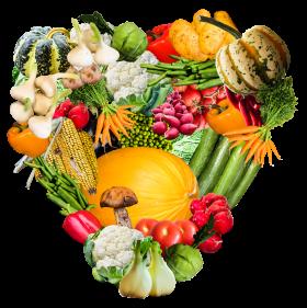 Heart Vegetables PNG