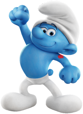 Hefty Smurf PNG