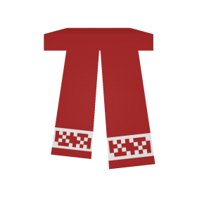 Holiday  Scarf PNG