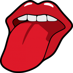 Human Tongue PNG