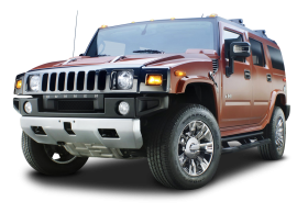 Hummer H2 SUV Truck PNG