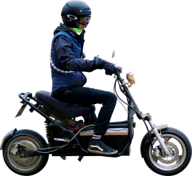 I Electric Scooter PNG