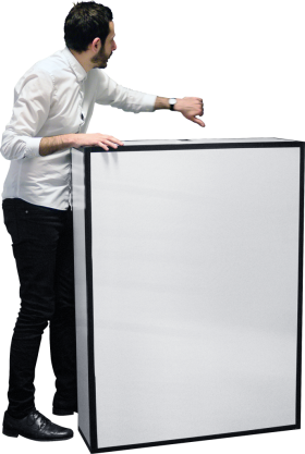 I With A Big Box PNG