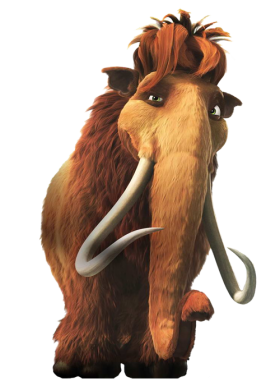 Ice Age Aliphant Ellie\ PNG