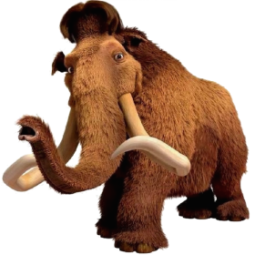 Ice Age Aliphant PNG