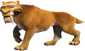 Ice Age Diego PNG