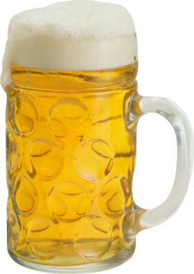 Ice Cold Beer in Mug PNG