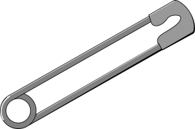 Immigrant  Safety Pin's PNG