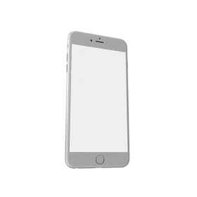 iPhone 6 Plus Silver PNG