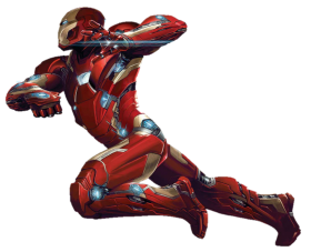 Ironman Flying PNG