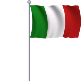 Italia Flag PNG