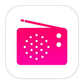 iTunes Radio Icon PNG