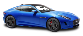 Jaguar F TYPE Luxury Sports Blue Car PNG
