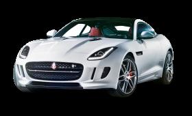Jaguar F TYPE White Car PNG