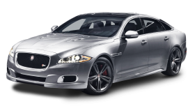 Jaguar XKR Silver Car PNG