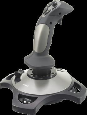 Logic 3 Silver Joystick PNG