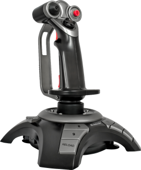 Joystick with Red Button PNG