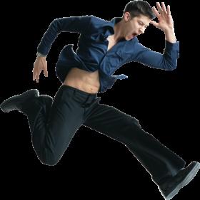 Jumping Man PNG